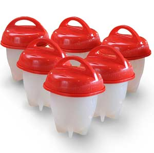 Egglettes Egg Cooker - 6 Pieces