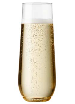 9oz Unbreakable Champagne Flutes - 12 Ct