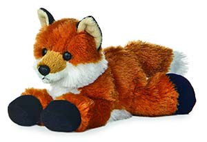 Foxie Flopsie Plush