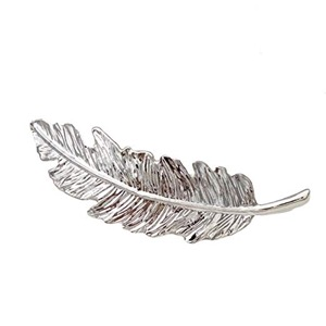 Leaf/Feather Shaped Hair Clip Pin