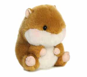 Adorable Hamster Plush