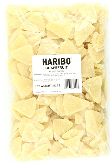 Haribo Peaches Gummies - Big 5lb Bag