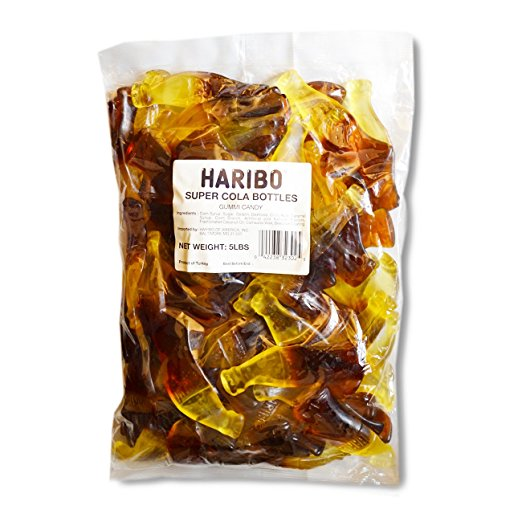 Haribo Super Cola Gummies - Big 5lb Bag