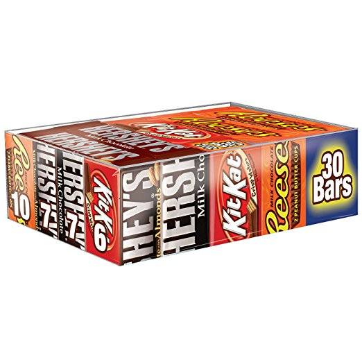 Hershey's Candy Variety Pack - 30 Count