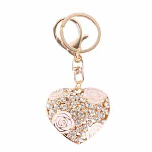 Sweet Love Rose Keychain