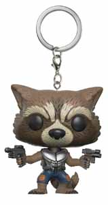 Guardians of the Galaxy Rocket Keychain