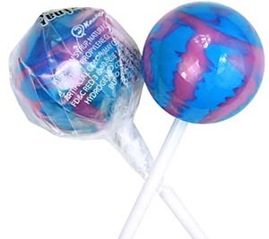 Original Gourmet Lollipops, Cotton Candy