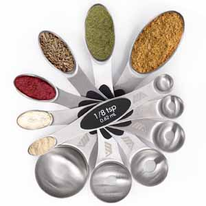 Magnetic Stainless Measuring Spoons