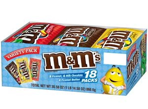 M&M'S Variety Pack - 18-ct Box