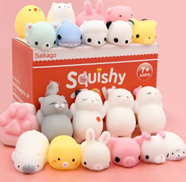Mochi Squishy Toys - 20 Pieces