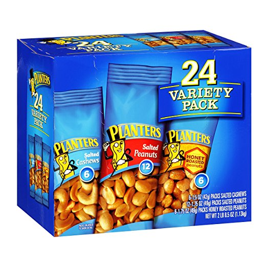 Planters Nuts 24 Pack