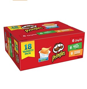 Pringles Flavored Variety Pack - 18 Cups