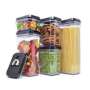 Royal 5-Pc Air-Tight Food Containers