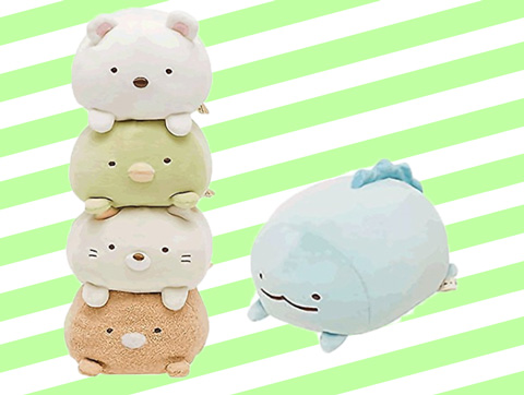 San-X Sumikko Gurashi - Super Squishy - Collect all 5!