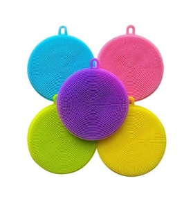 Silicone Sponge Kitchen Scrubber 5 pack