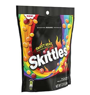 Skittles Sweet Heat Bag