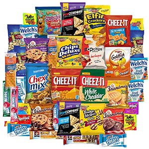 Snack Chest Care Package - 40Ct