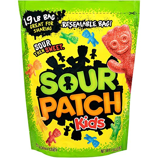 Sour Patch Kids - Giant 1.9lb Bag
