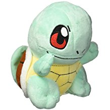 Pokemon Squirtle Plushy - 6.5""