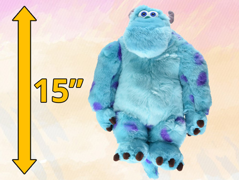 "Monsters Inc. Sulley 15"" Plush"