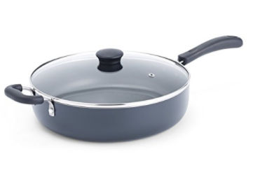 T-fal Nonstick 5-Quart Saute Pan with Glass Lid