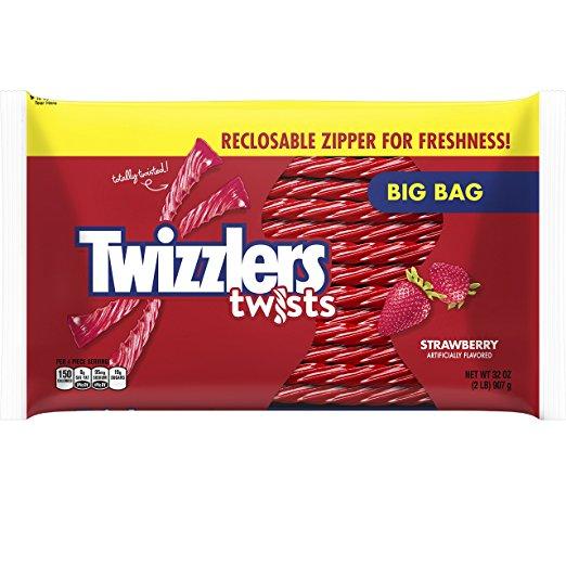 Twizzlers Giant Bag - Strawbeery, 32 oz