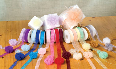 Organza Solid Pull Bow