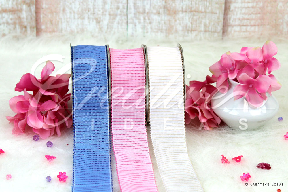 Decorative Vertical Lines Ribbons-10 Yards
