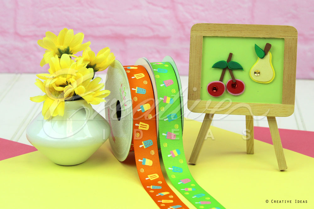 Popsicle Ribbons-10 Yards