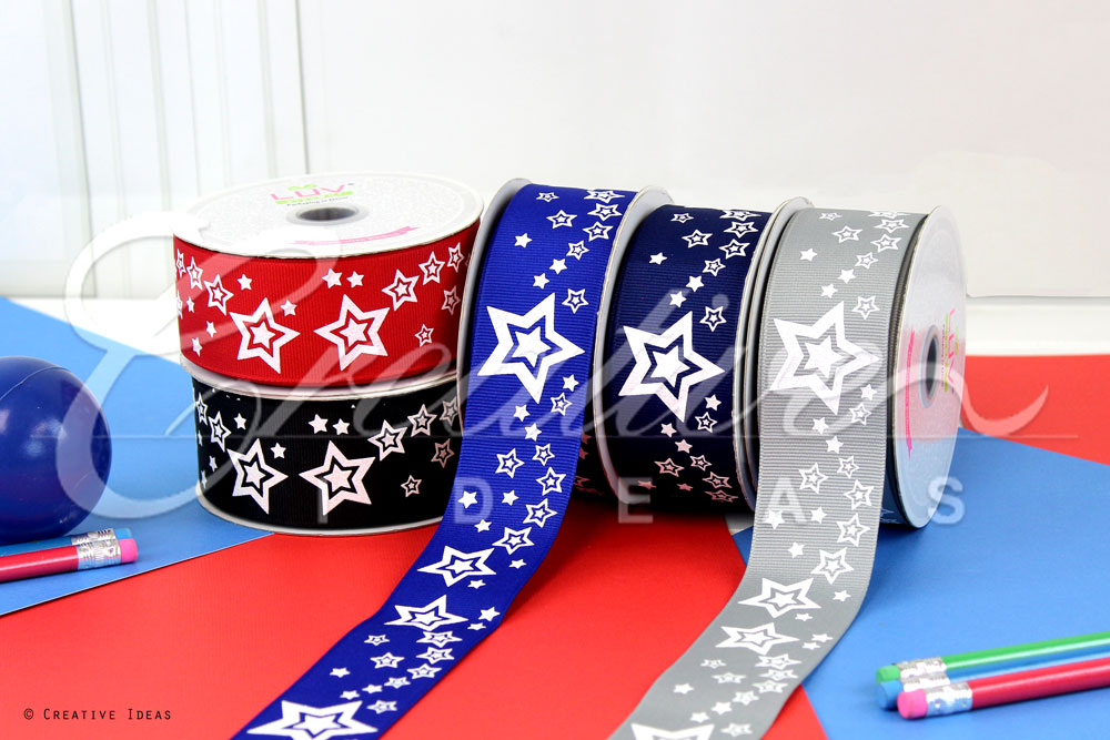 Starry Sky Ribbons-10 Yards