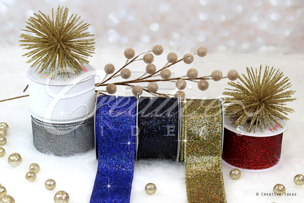 Bling Disco Ribbons