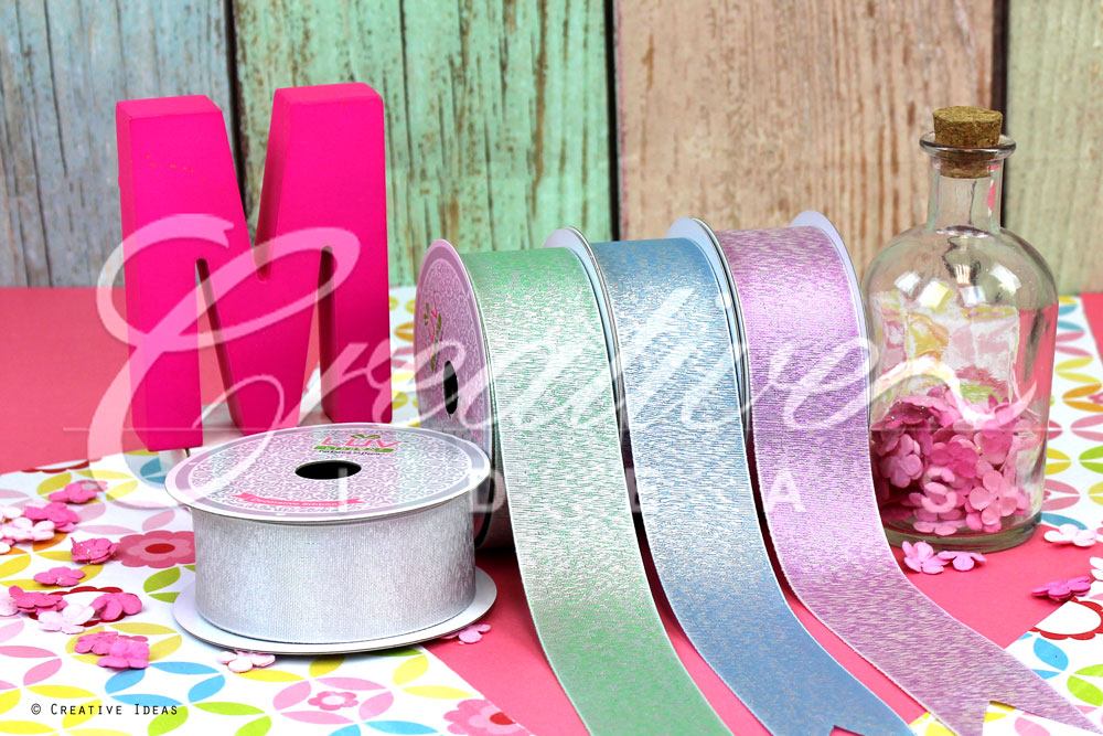 Metallic Shimmering Ribbons-10 Yards