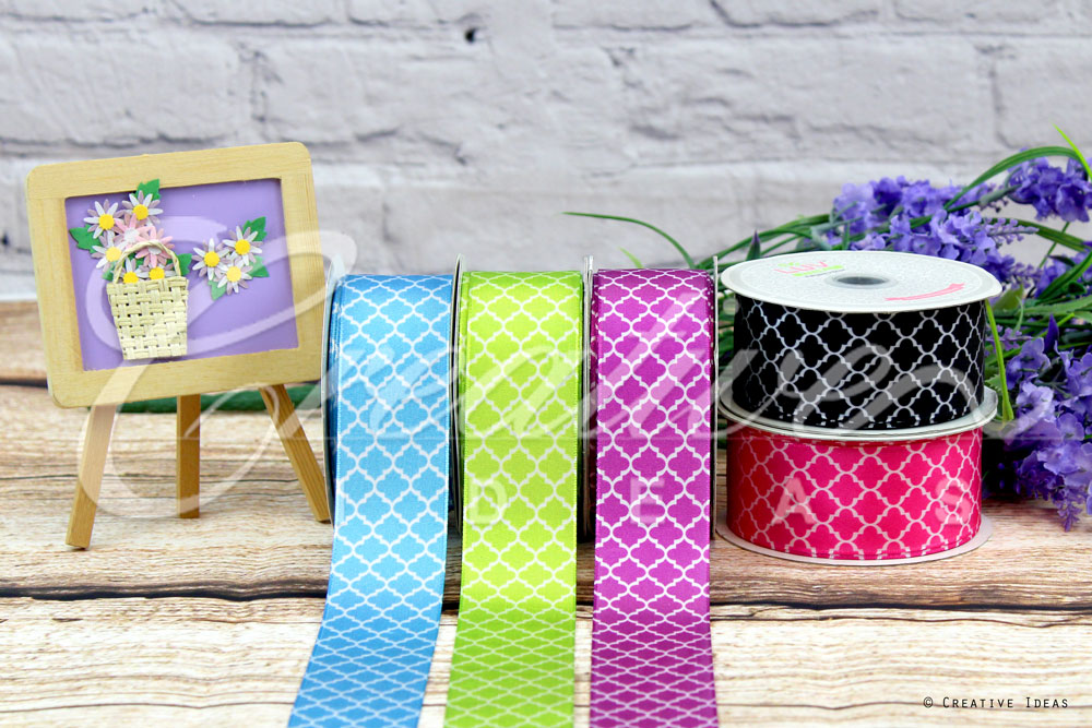 Geometric Ribbons-10 Yards