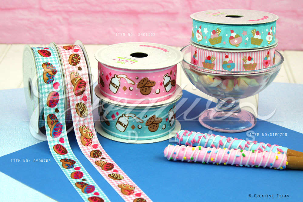 Sweet Desserts Ribbons-10 Yards