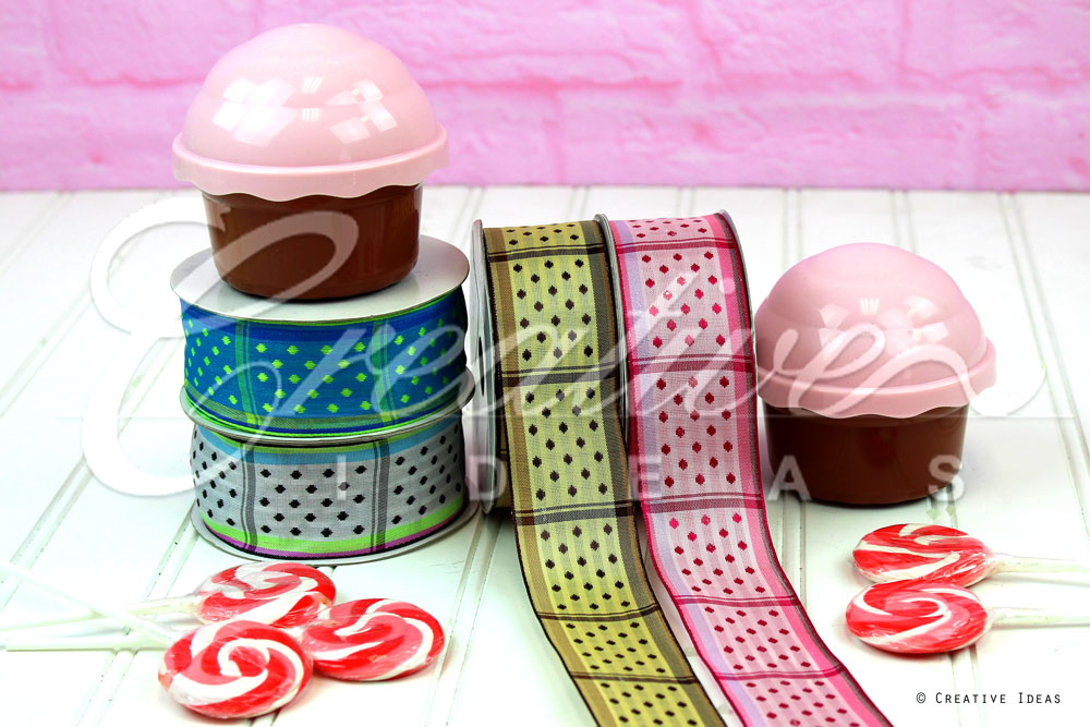 Dippy Dots Ribbons-10 Yards