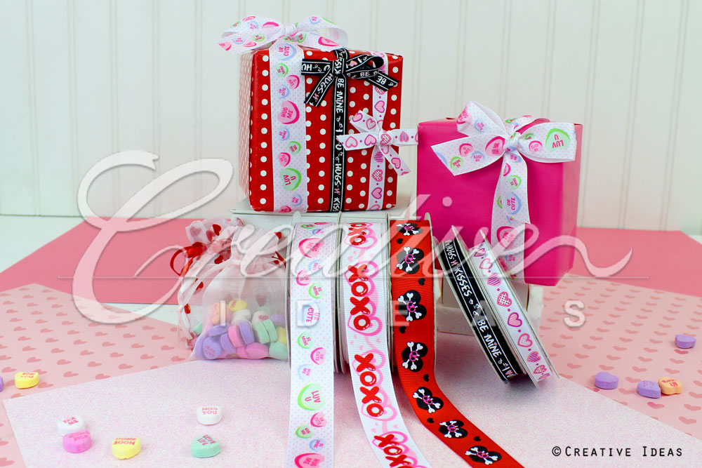 Valentine's Day Ribbons-10 Yards
