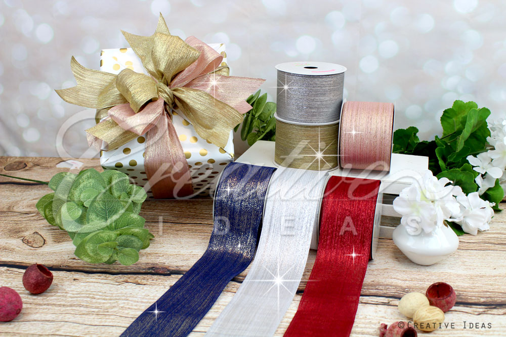 Metallic Lines Ribbons