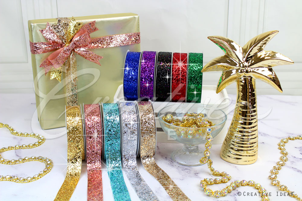 Sparkly Sequins Ribbons