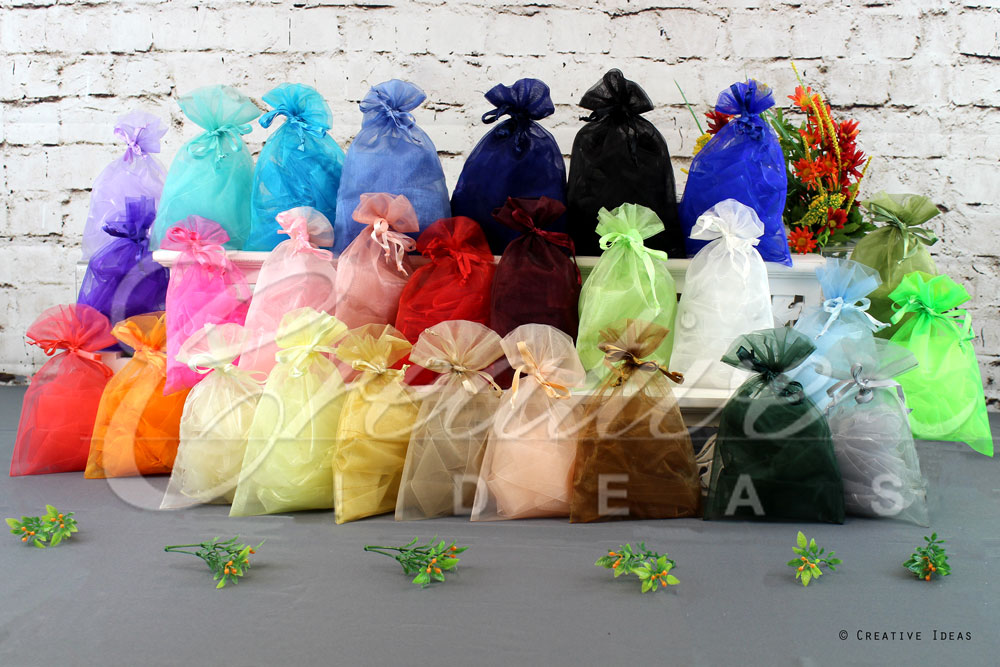 Organza Pouch-Sold by a Dozen Pieces