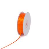 """1/16"""" Double Face Satin Ribbon - 100 Yards (Orange)"""