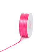 "1/8"" Double Face Satin Ribbon - 100 Yards (Hot Pink)"