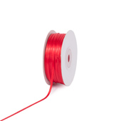 """1/8"""" Double Face Satin Ribbon - 100 Yards (Red)"""