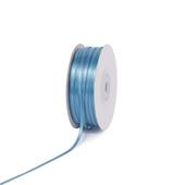 "1/8"" Double Face Satin Ribbon - 100 Yards (Antique Blue)"