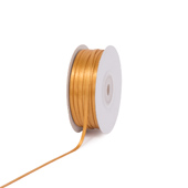 """1/8"""" Double Face Satin Ribbon - 100 Yards (Antique Gold)"""