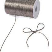 2mm Rat-tail (Chinese Knot) - 200 Yards (Silver)