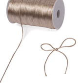 2mm Rat-tail (Chinese Knot) - 200 Yards (Toffee)