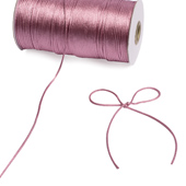 2mm Rat-tail (Chinese Knot) - 200 Yards (Rosy Mauve)