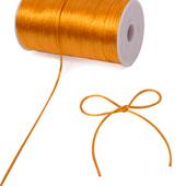 2mm Rat-tail (Chinese Knot) - 200 Yards (Orange)
