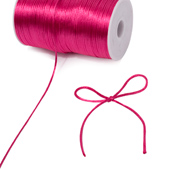 2mm Rat-tail (Chinese Knot) - 200 Yards (Hot Pink)