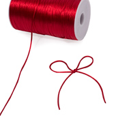 2mm Rat-tail (Chinese Knot) - 200 Yards (Red)